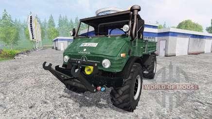 Mercedes-Benz Unimog U84 для Farming Simulator 2015