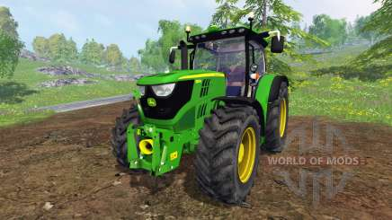 John Deere 6150R FL для Farming Simulator 2015