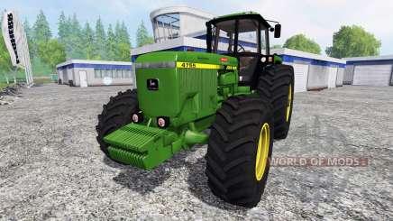 John Deere 4755 v2.1 для Farming Simulator 2015