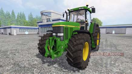 John Deere 7810 [washable] v2.0 для Farming Simulator 2015