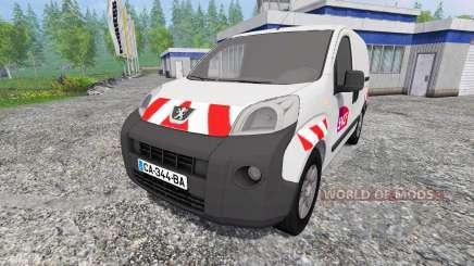 Peugeot Bipper [sncf] для Farming Simulator 2015