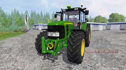 John Deere 6930 Premium FL для Farming Simulator 2015
