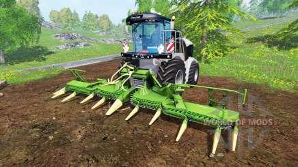 Krone Big X 580 [black] для Farming Simulator 2015