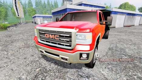 GMC Sierra [dump] для Farming Simulator 2015
