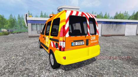 Renault Kangoo [dir sud-ouest] v2.0 для Farming Simulator 2015