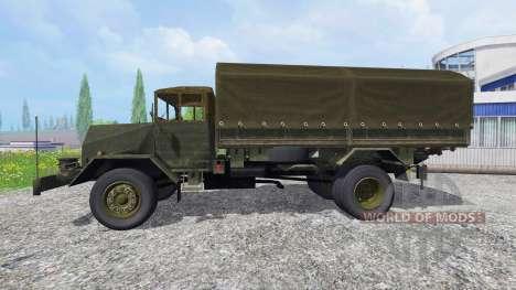 MAN 630L2 AE для Farming Simulator 2015