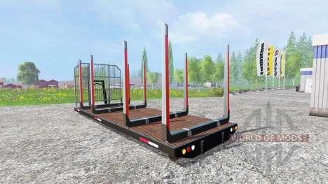 Платформа лесовозная ITRunner для Farming Simulator 2015