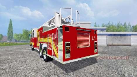 American Firetruck для Farming Simulator 2015