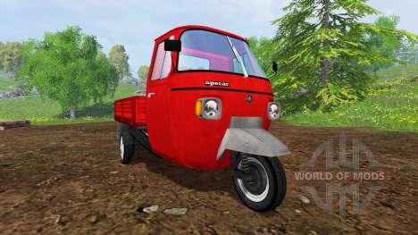 Piaggio Ape P601 UPK для Farming Simulator 2015