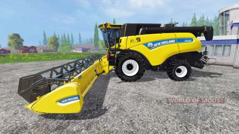 New Holland CR9.90 [edition pneus michelin] для Farming Simulator 2015