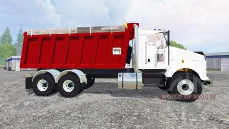 Kenworth T800 [dumper] v2.0 для Farming Simulator 2015