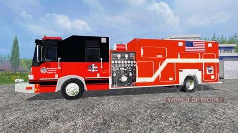 U.S Fire Truck для Farming Simulator 2015