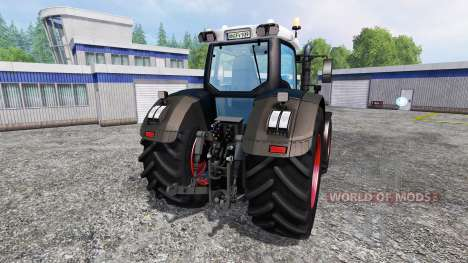 Fendt 939 Vario S4 Black Beauty для Farming Simulator 2015