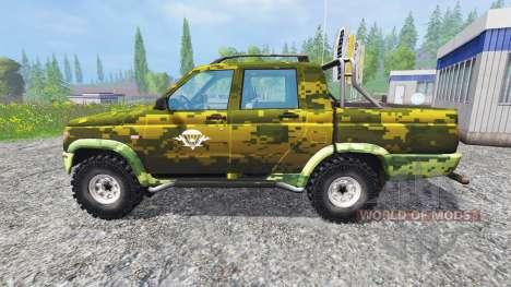 УАЗ-2362 [ВДВ] для Farming Simulator 2015