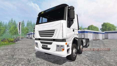 Iveco Stralis [clixtar] v1.3 для Farming Simulator 2015