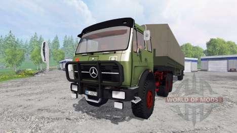 Mercedes-Benz NG 1632 6x6 для Farming Simulator 2015
