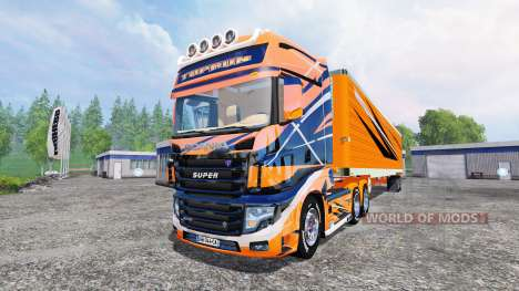 Scania R700 [toprun] для Farming Simulator 2015