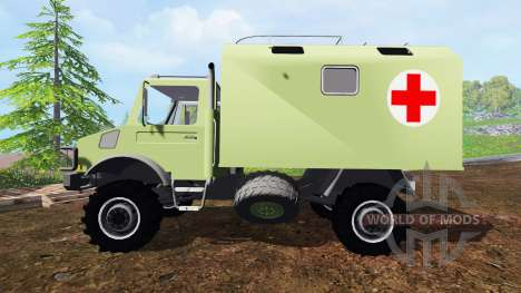 Mercedes-Benz Unimog U2150 (437) Medical v1.1 для Farming Simulator 2015