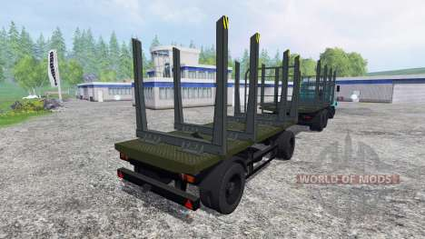 КрАЗ-6233М6 для Farming Simulator 2015