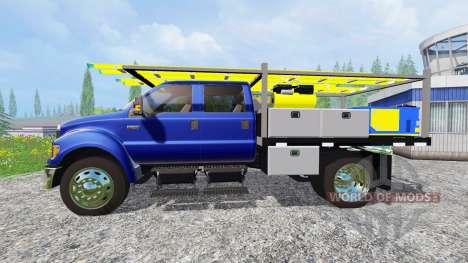 Ford F-650 для Farming Simulator 2015