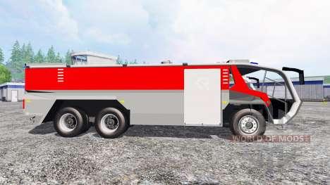 Rosenbauer Panther 6x6 CA5 v1.1 для Farming Simulator 2015