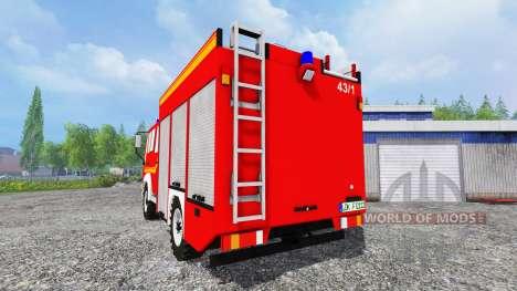 MAN M12.222 [feuerwehr] для Farming Simulator 2015