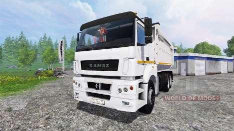 КамАЗ-6580 для Farming Simulator 2015