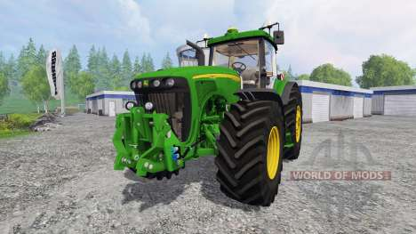 John Deere 8520 v2.0 для Farming Simulator 2015