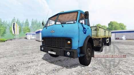 МАЗ-509 для Farming Simulator 2015
