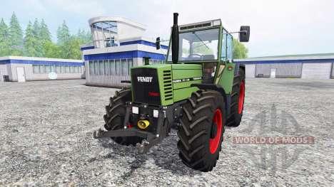 Fendt Farmer 310 LSA v3.2 для Farming Simulator 2015
