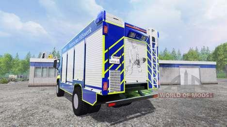 MAN TGM Technisches Hilfswerk для Farming Simulator 2015