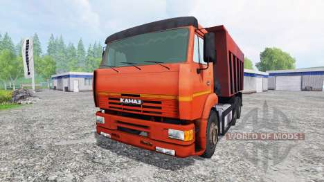 КамАЗ-6520 для Farming Simulator 2015