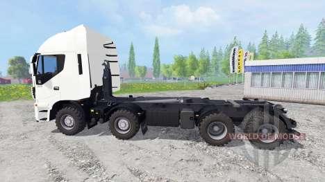Iveco Stralis Hi-Way 8x8 для Farming Simulator 2015