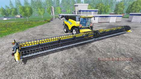 New Holland Super Flex Draper 45FT для Farming Simulator 2015