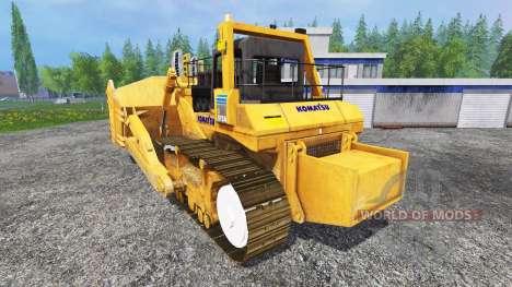 Komatsu D575A для Farming Simulator 2015
