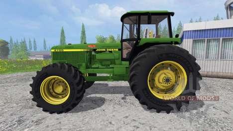 John Deere 4755 v2.2 для Farming Simulator 2015