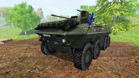 Spahpanzer Luchs для Farming Simulator 2015