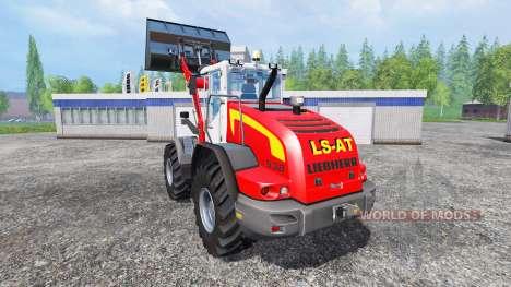 Liebherr L538 [red] для Farming Simulator 2015