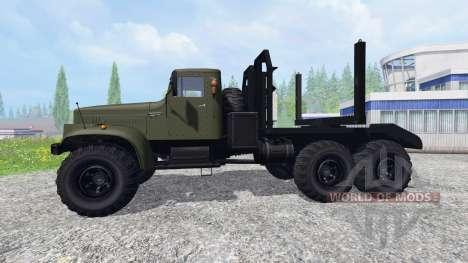 КрАЗ-255Л для Farming Simulator 2015
