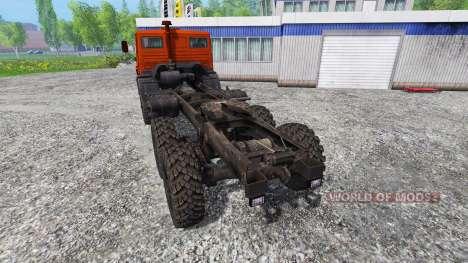 КамАЗ-4310 для Farming Simulator 2015