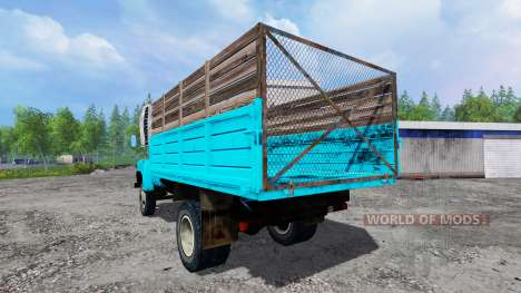ГАЗ-53 v4.0.1 для Farming Simulator 2015