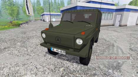 Mercedes-Benz 250 GD (W460) Wolf для Farming Simulator 2015