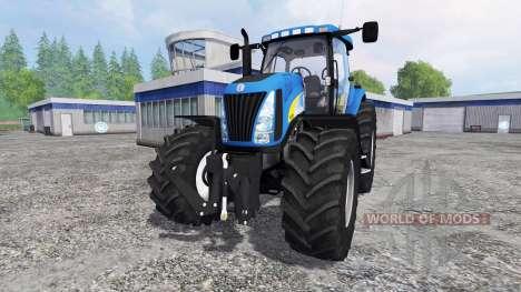 New Holland TG 285 [final] для Farming Simulator 2015