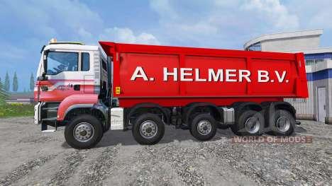 MAN TGS A. Helmer B.V. для Farming Simulator 2015