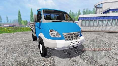 ГАЗ-3310 Валдай для Farming Simulator 2015