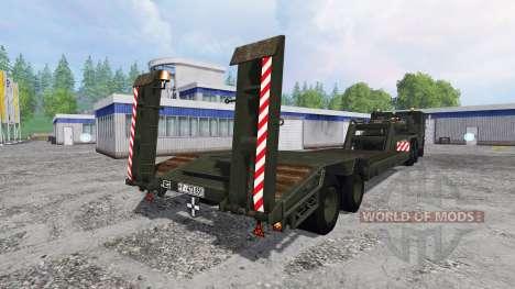 FAUN L 1212-45 VSA 6x6 для Farming Simulator 2015