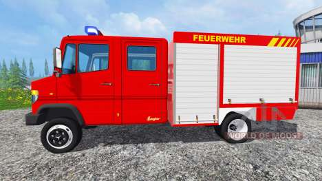 Mercedes-Benz Vario 818 D [feuerwehr] v0.9 для Farming Simulator 2015