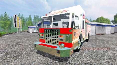 U.S Fire Truck v2.0 для Farming Simulator 2015