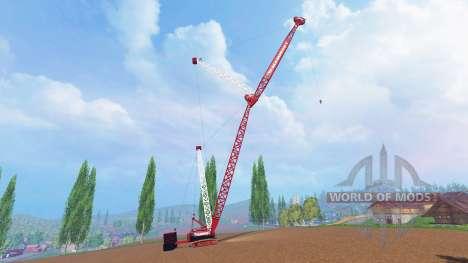 Гусеничный 400 тонный кран для Farming Simulator 2015