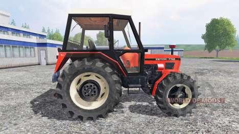 Zetor 7745 FL для Farming Simulator 2015